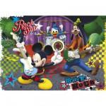 Puzzle 104 pièces maxi : Mickey et ses amis font du rock