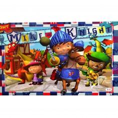 Puzzle 104 pièces maxi : Mike le chevalier