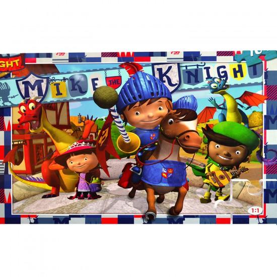 Puzzle 104 pièces maxi : Mike le chevalier - Clementoni-23652