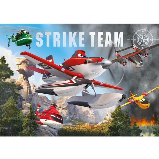 Puzzle 104 pièces maxi : Planes 2 - Clementoni-23661