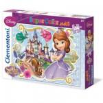 Puzzle 104 pièces maxi : Princesse Sofia