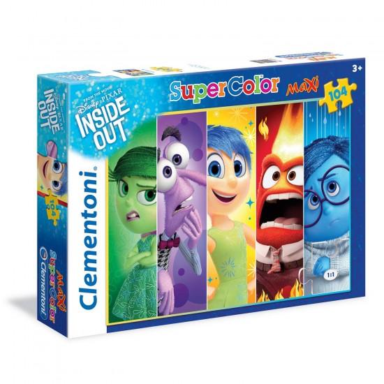 Puzzle 104 pièces Maxi : Vice-Versa - Clementoni-23699