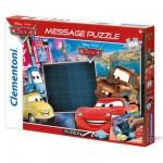 Puzzle 104 pièces Message : Cars