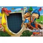 Puzzle 104 pièces Message : Mike le chevalier