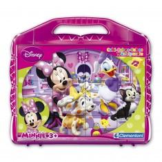 Puzzle 12 cubes : Minnie