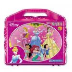 Puzzle 12 cubes : Princesses Disney