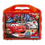 Puzzle 12 cubes Disney : Cars 2