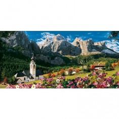Puzzle 13200 pièces - Les Dolomites