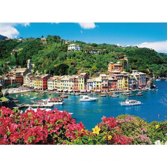 Puzzle 1500 pièces - Portofino, Italie - Clementoni-31986