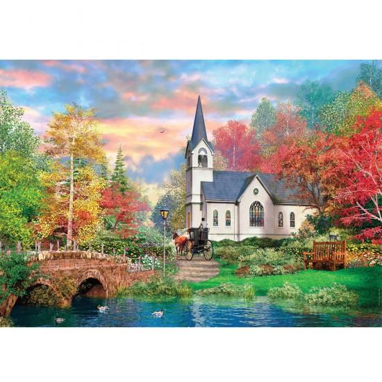 Puzzle 1500 pièces : Automne Coloré - Clementoni-31675