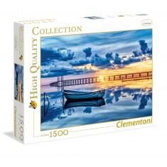 Puzzle 1500 pièces : Barque