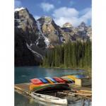 Puzzle 1500 pièces : Lac Moraine, Canada