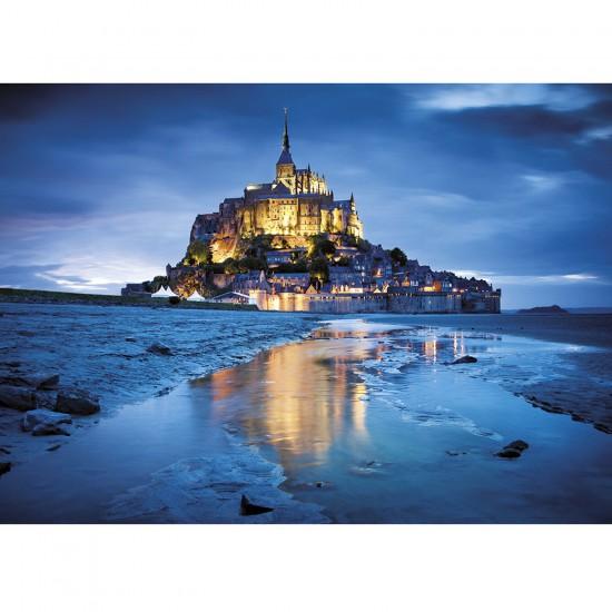 Puzzle 1500 pièces : Le Mont Saint Michel, France - Clementoni-31994