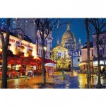 Puzzle 1500 pièces : Montmartre, Paris