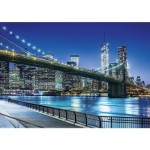 Puzzle 1500 pièces : New York by Night