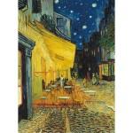 Puzzle 1500 pièces : Terrasse du café le soir, Van Gogh