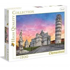 Puzzle 1500 pièces : Tour de Pise