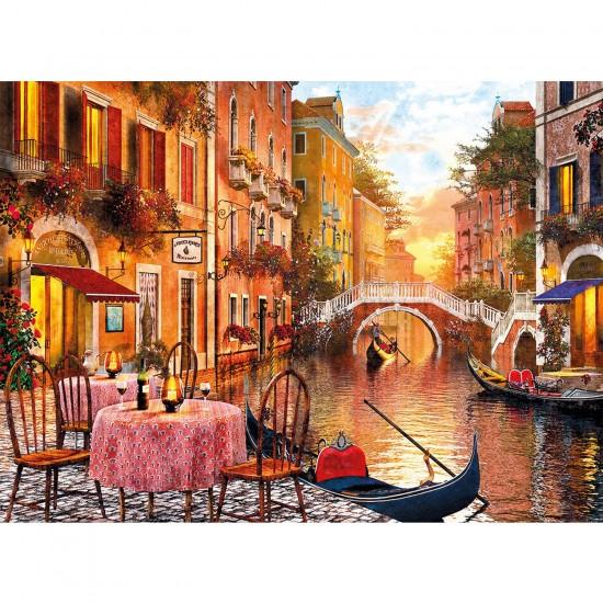 Puzzle 1500 pièces : Venise au crépuscule - Clementoni-31668