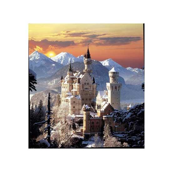 Puzzle 1500 pièces - Château de Neuschwanstein - Clementoni-31925