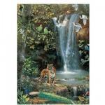 Puzzle 1500 pièces - La cascade enchantée