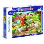 Puzzle 2 x 20 pièces : Disney classiques : Bambi & Les 101 dalmatiens