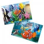 Puzzle 2 x 20 pièces : Le monde de Nemo
