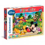 Puzzle 2 x 20 pièces : Mickey Mouse Club House