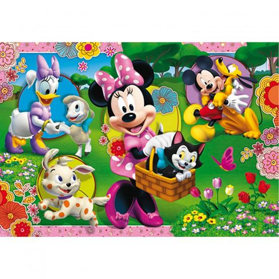 Puzzle 2 x 20 pièces : Minnie et ses amis - Clementoni-24724