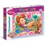 Puzzle 2 x 20 pièces : Princesse Sofia