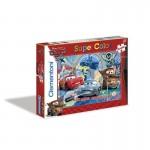 Puzzle 2 x 20 pièces : Super Color : Cars 2