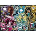 Puzzle 200 pièces : Monster High : Pêle mêle