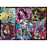 Puzzle 200 pièces : Monster High : Portrait des étudiantes