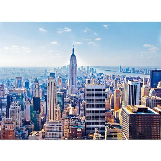 Puzzle 2000 pièces - Manhattan, New York - Clementoni-32544