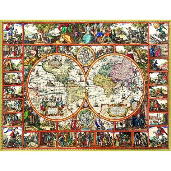 Puzzle 2000 pièces : Magna Charta - Clementoni-32551