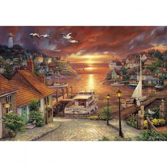 Puzzle 2000 pièces : Vers de nouveaux horizons - Clementoni-32548