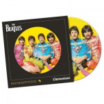 Puzzle 212 pièces rond : The Beatles : With a Little Help from my Friends