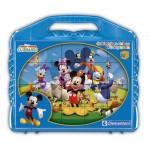 Puzzle 24 cubes : Mickey et ses amis