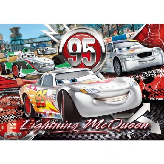 Puzzle 24 pièces maxi : Cars : Silver Collection - Clementoni-24442