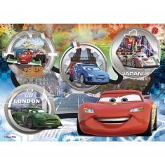 Puzzle 24 pièces maxi : Cars