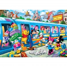 Puzzle 24 pièces maxi : Disney Train