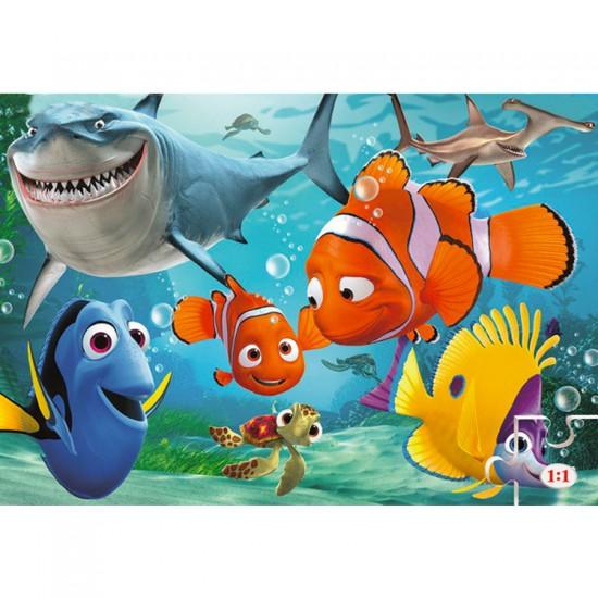 Puzzle 24 pièces maxi : Le monde de Nemo - Clementoni-24446