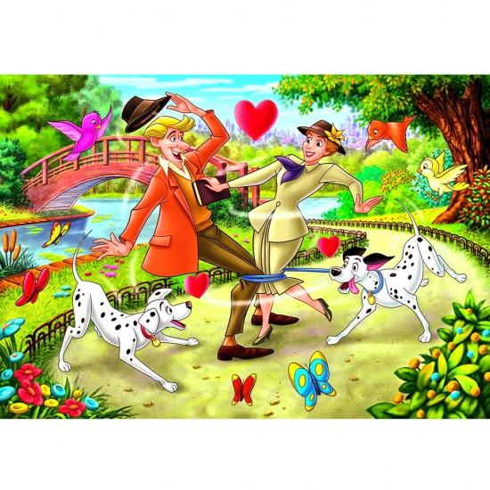 Puzzle 24 pièces maxi : Les 101 dalmatiens - Clementoni-24448