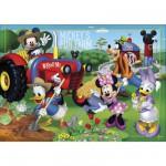 Puzzle 24 pièces maxi : Mickey et ses amis à la ferme