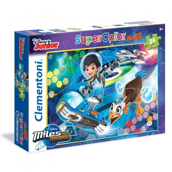 Puzzle 24 pièces Maxi : Miles dans l'espace - Clementoni-24052