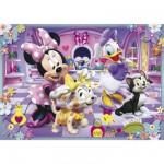 Puzzle 24 pièces maxi : Minnie et ses animaux de compagnie