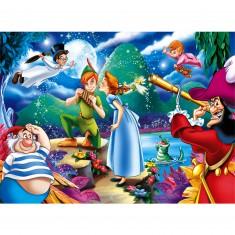 Puzzle 24 pièces maxi : Peter Pan