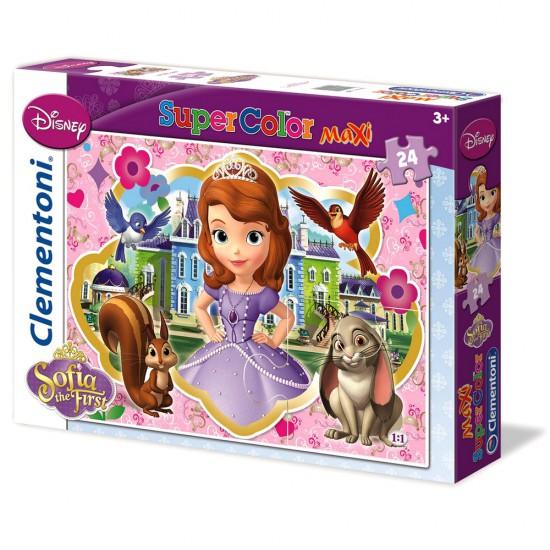 Puzzle 24 pièces maxi : Princesse Sofia - Clementoni-24450