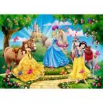 Puzzle 24 pièces maxi : Princesses Disney : Balade à cheval
