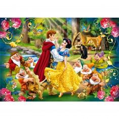 Puzzle 24 pièces maxi : Princesses Disney : Blanche Neige