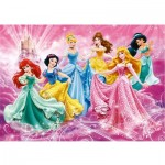 Puzzle 24 pièces maxi : Princesses Disney